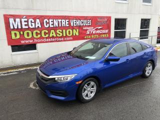 Used 2017 Honda Civic LX AUTOMATIQUE GARANTIE HONDA 7/130 for sale in Laval, QC