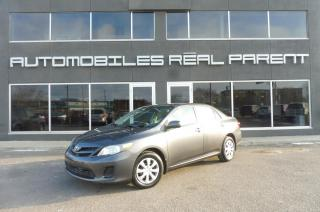 Used 2012 Toyota Corolla 103 313 KM - AUTOMATIQUE - AIR CLIMATISÉ -GARANTIE for sale in Québec, QC