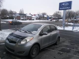 Used 2010 Toyota Yaris MANUELLE 5 PORTES TRD AILERON for sale in Repentigny, QC