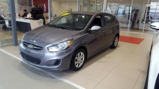 Used 2013 Hyundai Accent Voiture à hayon, 5 p boîte auto GL *Disp for sale in Beauport, QC