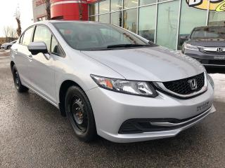Used 2015 Honda Civic EX BAS KILOMÉTRAGE for sale in Quebec, QC