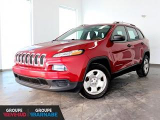 Used 2014 Jeep Cherokee SPORT || FWD || BLUETOOTH || AIR CLIMATISÉ UN PROPRIO JAMAIS ACCIDENTÉ for sale in Brossard, QC
