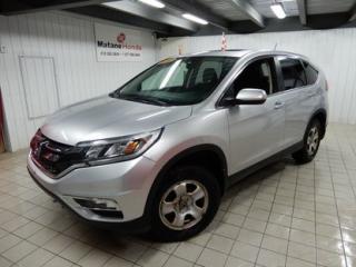 Used 2016 Honda CR-V EX AWD **SIÈGE ÉLECT-TOIT OUVRANT-2 CAMÉRAS ETC** **ACHETÉ ET ENTRETENU ICI-1 SEULE PROPRIO** for sale in Matane, QC