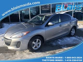 Used 2013 Mazda MAZDA3 GX for sale in Ste-Marie, QC