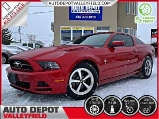 Used 2013 Ford Mustang V6 Premium + CUIR, MAGS, CRUISE for sale in Salaberry-de-Valleyfield, QC