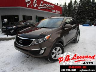 Used 2015 Kia Sportage Lx fwd manuelle siege chauffant bluetooth for sale in St-Prosper, QC