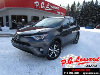 Used 2016 Toyota RAV4 Xle awd toit camera siege chauffant for sale in St-Prosper, QC