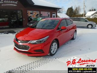 Used 2018 Chevrolet Cruze LT for sale in St-Prosper, QC