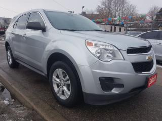 Used 2011 Chevrolet Equinox LS-EXTRA CLEAN- ONLY 122K-BLUETOOTH-AUX-ALLOYS for sale in Scarborough, ON