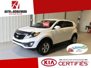 Used 2016 Kia Sportage LX AWD BAS KILO BEAU LOOK for sale in Notre-Dame-des-Pins, QC