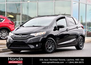 Used 2015 Honda Fit EX-L NAVI MAGS CUIR TOIT NAVI AUTO for sale in Lachine, QC