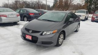 Used 2012 Honda Civic LX AUTO LOW KMS CERTIFIED 1 OWNER for sale in Stouffville, ON