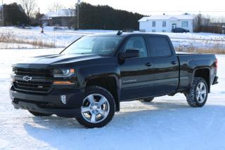 Used 2017 Chevrolet Silverado 1500 LT Z71 4X4 (Crew Cab) for sale in St-Isidore, QC