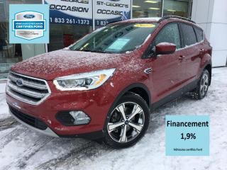 Used 2017 Ford Escape SE AWD 201 A 2.0L ECO CERTIFIÉ FORD TAUX for sale in St-Georges, QC