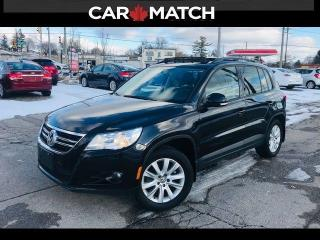 Used 2011 Volkswagen Tiguan COMFORTLINE / LEATHER / AWD for sale in Cambridge, ON