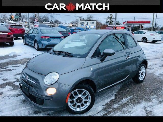 2012 Fiat 500 Pop / *AUTO* / NO ACCIDENTS
