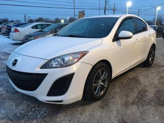 Used 2011 Mazda MAZDA3 Berline 4 portes, boîte manuelle, GX for sale in Terrebonne, QC