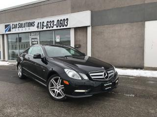 Used 2012 Mercedes-Benz E-Class E 350-COUPE-4MATIC-NAVI for sale in Toronto, ON