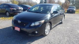 Used 2009 Toyota Corolla S AUTO POWER SUNROOF for sale in Stouffville, ON