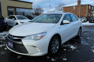 Used 2016 Toyota Camry XLE HYBRID for sale in Brampton, ON