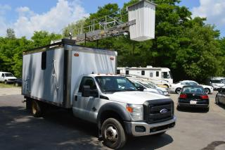 Used 2011 Ford F-550 BUCKET CUBE VAN for sale in Richmond Hill, ON