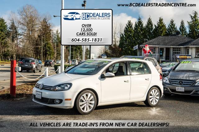 2013 Volkswagen Golf Wolfsburg Edition TDI Diesel, T-Belt Replaced!