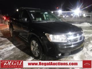 Used 2009 Dodge Journey SXT 4D Utility FWD for sale in Calgary, AB