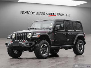New 2020 Jeep Wrangler Unlimited Rubicon for sale in Mississauga, ON