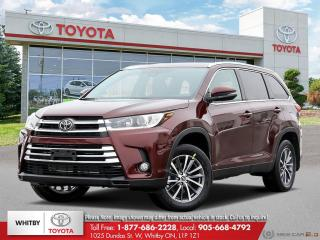 New 2019 Toyota Highlander XLE AWD LB20 for sale in Whitby, ON