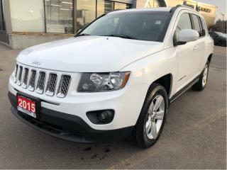 Used 2015 Jeep Compass North All Season 4x2 w/Heated Seats, Remote Start for sale in Hamilton, ON