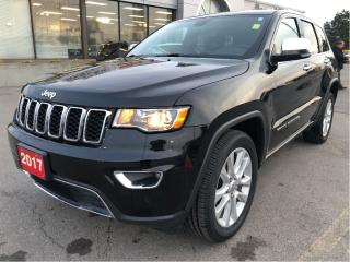 Used 2017 Jeep Grand Cherokee Limited 4x4 V6 w/Navi, Leather, Remote Start for sale in Hamilton, ON