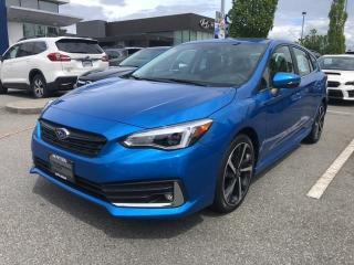 New 2020 Subaru Impreza Sport-tech for sale in Port Coquitlam, BC