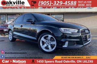 Used 2018 Audi A3 KOMFORT | LEATHER | SUNROOF | BLUETOOTH for sale in Oakville, ON