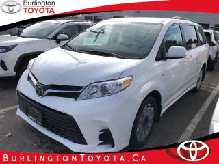New 2020 Toyota Sienna LE 7-Passenger AWD for sale in Burlington, ON