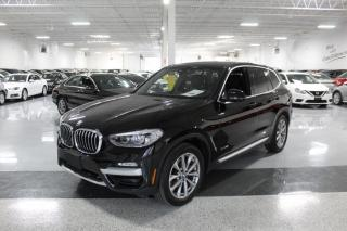 Used 2018 BMW X3 xDrive30i I NO ACCIDENTS I LEATHER I REAR CAM I BIG SCREEN for sale in Mississauga, ON