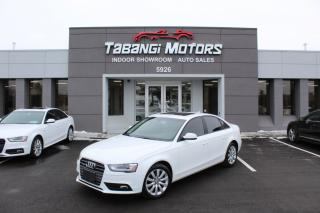 Used 2014 Audi A4 QUATTRO I LEATHER I SUNROOF I HEATED SEATS I KEYLESS ENTRY for sale in Mississauga, ON