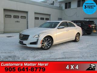 Used 2016 Cadillac CTS Luxury  V6 AWD NAV CUE ROOF REMOTE for sale in St. Catharines, ON