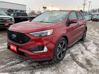 Used 2019 Ford Edge ST AWD  - One owner - Low Mileage for sale in Woodstock, ON