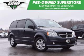 Used 2013 Dodge Grand Caravan Crew - Roof Rack, Trailer Hitch, Power Doors for sale in London, ON