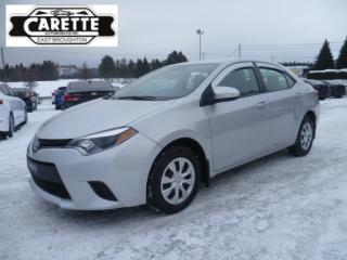 Used 2015 Toyota Corolla for sale in East broughton, QC