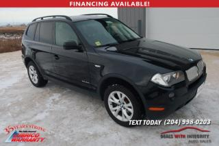 Used 2009 BMW X3 30i for sale in West Saint Paul, MB