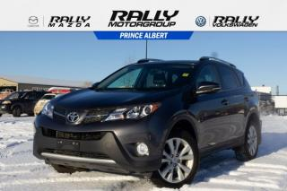 Used 2015 Toyota RAV4 LIMITED  for sale in Prince Albert, SK