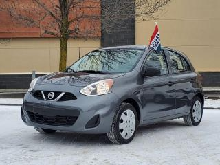 Used 2017 Nissan Micra S for sale in Drummondville, QC