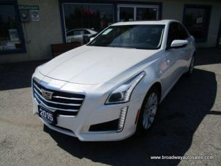 Used 2015 Cadillac CTS LOADED ALL-WHEEL DRIVE 5 PASSENGER 2.0L - TURBO.. NAVIGATION.. LEATHER.. HEATED/AC SEATS.. PANORAMIC SUNROOF.. BLUETOOTH SYSTEM.. BOSE AUDIO.. for sale in Bradford, ON