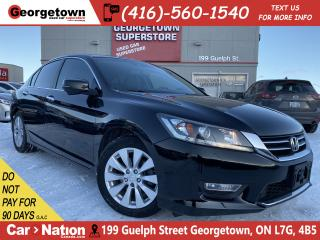 Used 2013 Honda Accord Sedan EX-L | 4CYL | LEATHER | ROOF | B/U CAM | TINTS|B/T for sale in Georgetown, ON