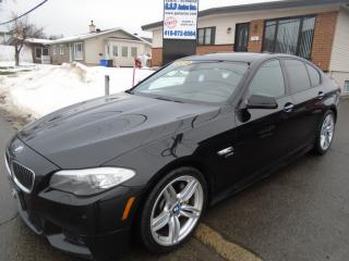 Used 2012 BMW 5 Series for sale in Ancienne Lorette, QC