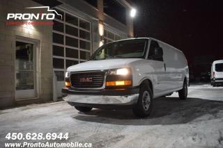 Used 2018 GMC Savana CARGO 3500 ** DURAMAX ** Allongé Extended for sale in Laval, QC