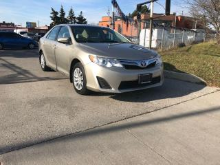 Used 2014 Toyota Camry 4CYLN,BACKUP CAMERA,SAFETY+3YRS WARRANTY INCLUDED for sale in Toronto, ON