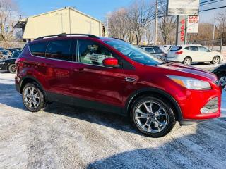 Used 2014 Ford Escape 4WD-Cuir-Navi-Toit-Camera-Jamais Accidentée for sale in Laval, QC