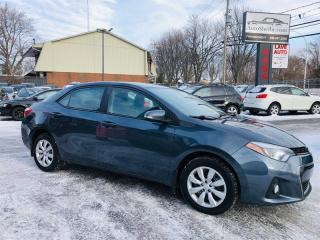 Used 2015 Toyota Corolla 1.8L-Air-Cuir-Bluetooth-Mags-Groupe Electrique for sale in Laval, QC